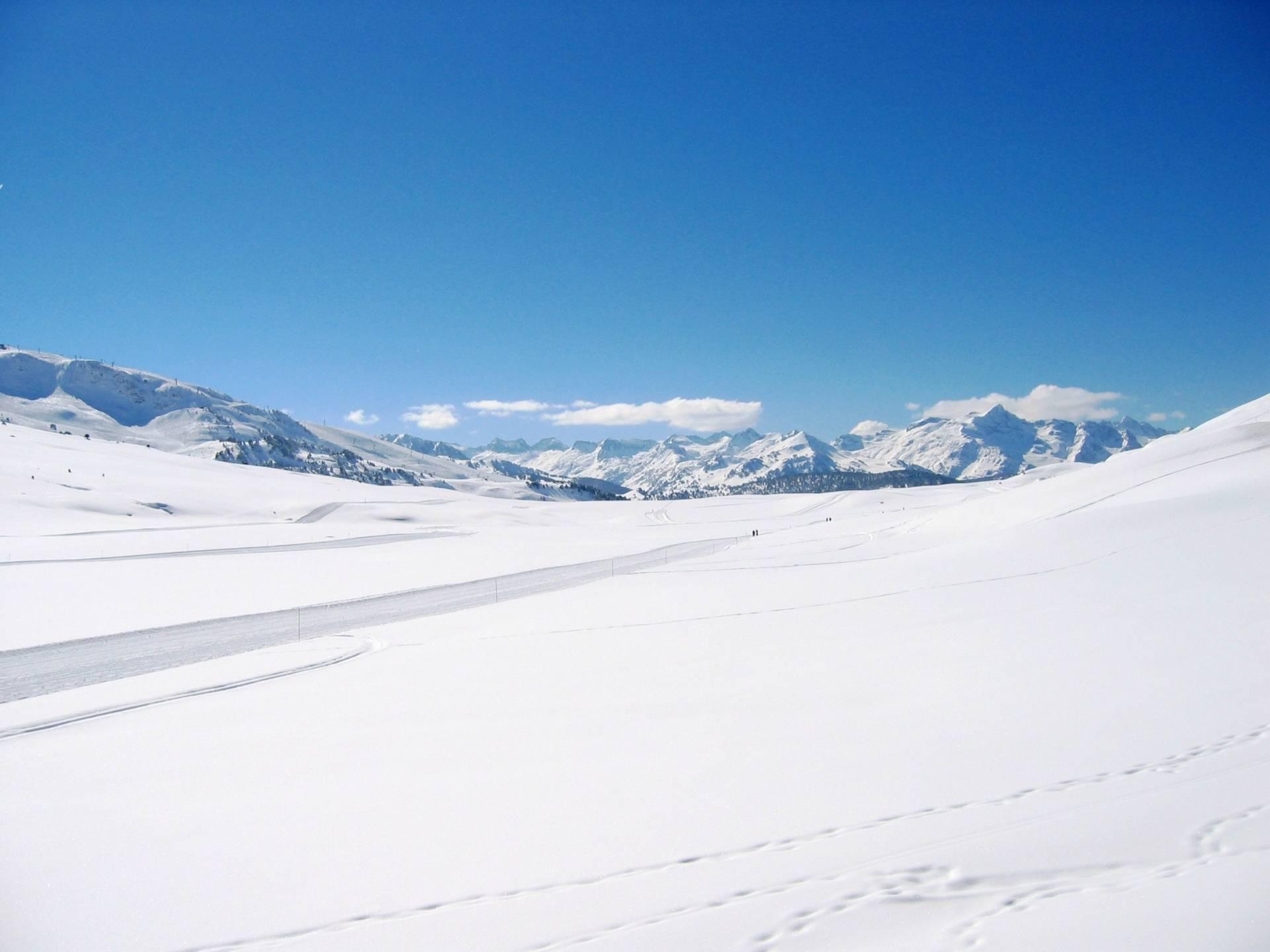 nieve valle de arán