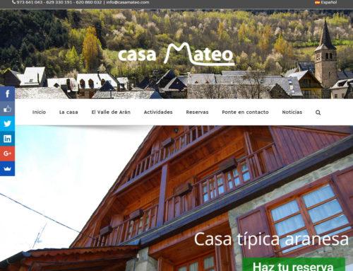 Estrenamos nueva web de Casa Mateo